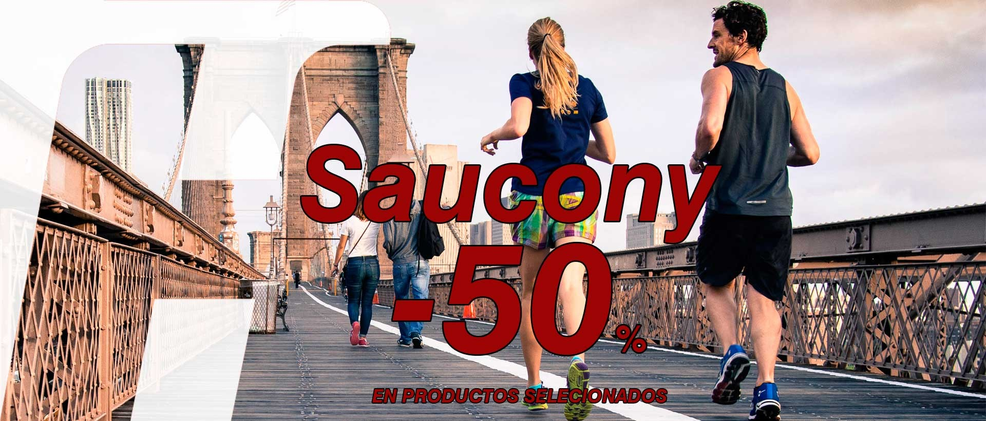 saucony 50% descuento
