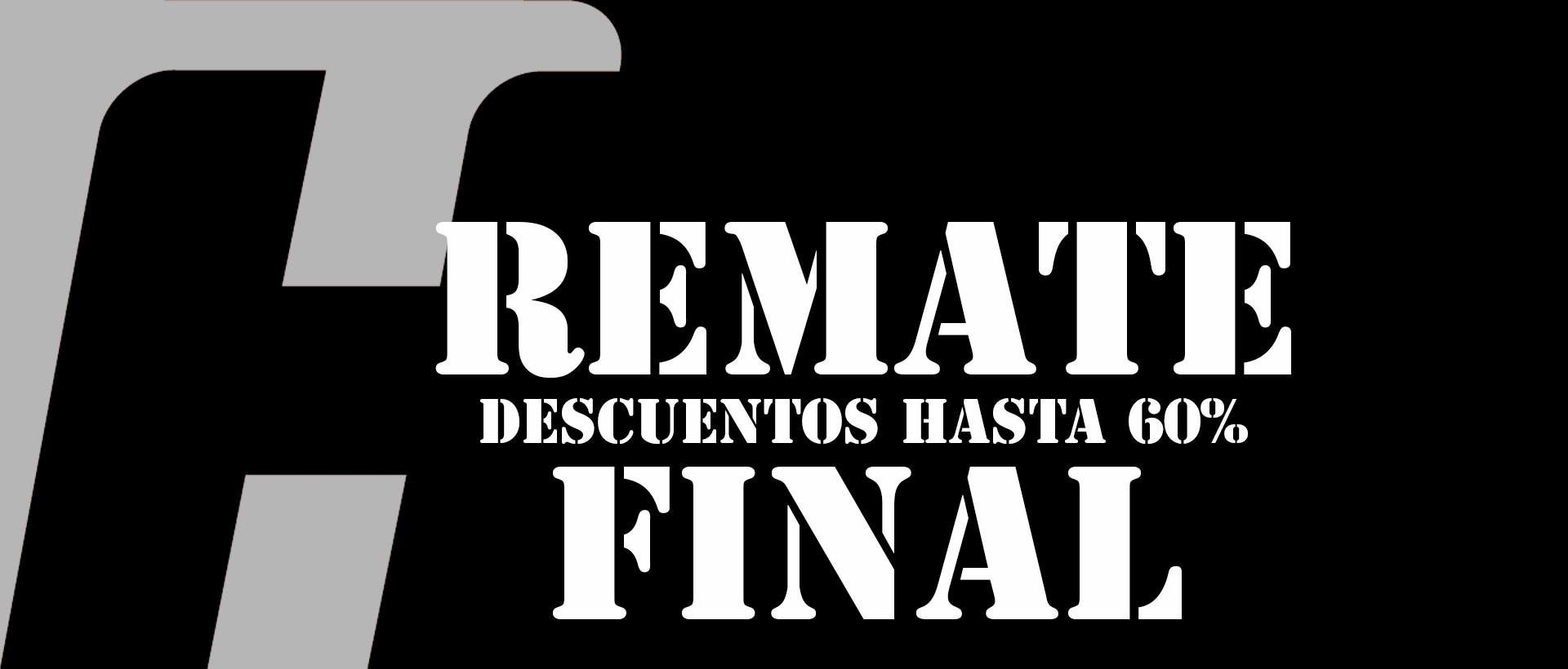Remate final Rebajas